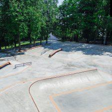 Фото: Скейт парк на Удальцова в Москве, в парке 50-летия Октября - FK-ramps