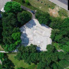 LSD Скейт парк на Удальцова в Москве, в парке 50-летия Октября - FK-ramps