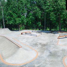 Бетонный скейт парк на Удальцова в Москве - FK-ramps