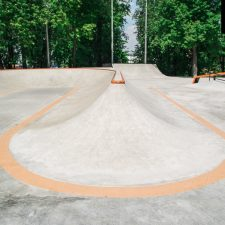 Скейт парк на Удальцова в Москве - FK-ramps