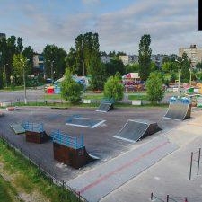 Деревянный скейт парк в Нижнем Новгороде в парке 777-летия города - FK-ramps