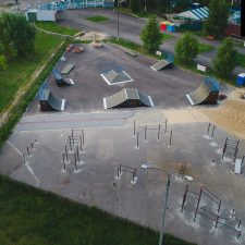 Фото: скейт парк в Нижнем Новгороде в парке 777-летия города - FK-ramps