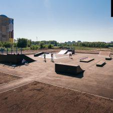 Фото: скейт парк в Ульяновске - FK-ramps
