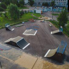 Скейт парк в Нижнем Новгороде в парке 777-летия города от FK-ramps