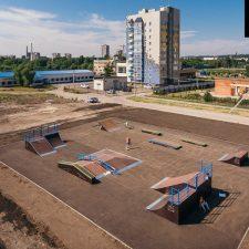 Скейт парк в Ульяновске в студенческом городке - FK-ramps