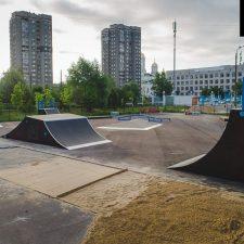 Строим скейт парк в Нижнем Новгороде в парке 777-летия города - FK-ramps