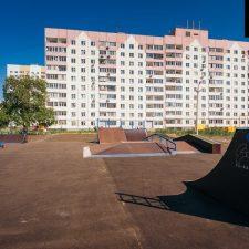 Деревянный скейт парк в Ульяновске - FK-ramps