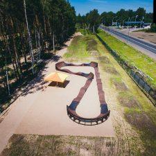 Новый памп трек в Пскове от FK-ramps
