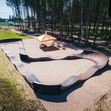 Кольцевой памп трек в Пскове от FK-ramps