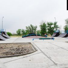 Деревянный скейт парк в Нефтекумске - FK-ramps
