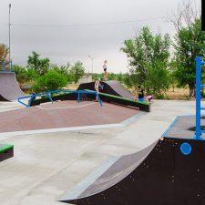 Скейт парк в Нефтекумске - FK-ramps