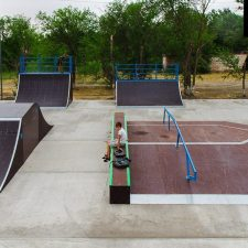 Скейт парк в Нефтекумске, Ставропольский край - FK-ramps