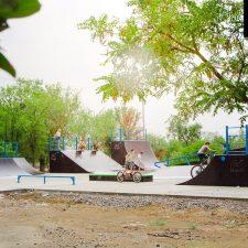 Деревянный скейт парк в Нефтекумске, Ставропольский край - FK-ramps