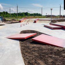 Бетонный скейт парк Новый город в Чебоксарах - FK-ramps