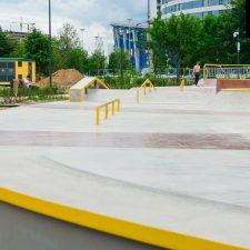 Скейт парк на Ходынском поле - FK-ramps