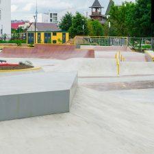Скейт парк на Ходынском поле метро ЦСКА - FK-ramps