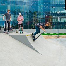 Скейт парк на Ходынском поле метро ЦСКА в Москве - FK-ramps