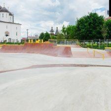 Бетонный скейт парк на Ходынском поле метро ЦСКА в Москве - FK-ramps