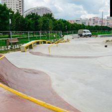 Скейт парк на Ходынском поле в Москве около метро ЦСКА - FK-ramps