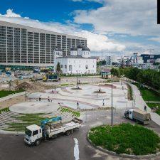Проект: Скейт парк на Ходынском поле в Москве около метро ЦСКА - FK-ramps