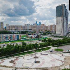Фото: Скейт парк на Ходынском поле в Москве около метро ЦСКА - FK-ramps