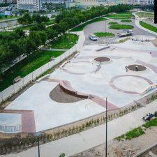 Скейт парк на Ходынском поле в Москве, метро ЦСКА - FK-ramps