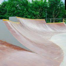 Бетонный скейт парк на Ходынском поле в Москве - FK-ramps