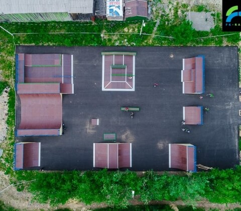 Скейт парк в Салехарде - FK-ramps