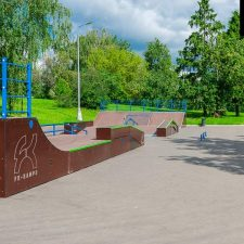 Скейт парк Митино в Москве - FK-ramps