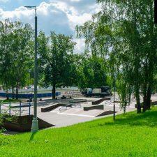 Деревянный скейт парк Митино у метро Волоколамская, Москва - FK-ramps