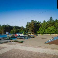 Скейт парк в Челябинске на площади Науки - FK-ramps