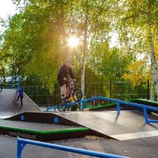 Фото: скейт парк в Стрежевом, Томская область - FK-ramps