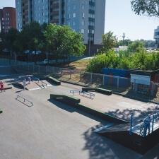 Фото: скейт парк в Новокуйбышевске - FK-ramps