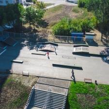 Скейт парк в Новокуйбышевске в парке Победы - FK-ramps