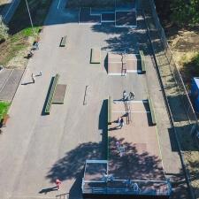 Деревянный скейт парк в Новокуйбышевске - FK-ramps