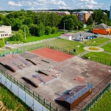 Фото: скейт парк в Глебовском - FK-ramps