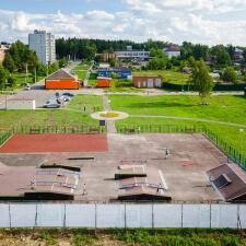 Проект: скейт парк в Глебовском - FK-ramps