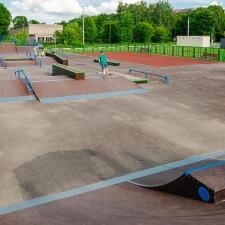 Деревянный cкейт парк в Глебовском - FK-ramps