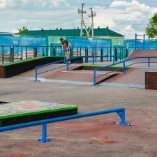 Cкейт парк в Глебовском - FK-ramps