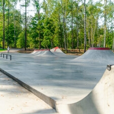 Скейт парк в Ивантеевке - FK-ramps