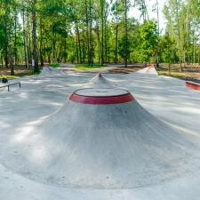 Бетонный скейт парк в Ивантеевке, Московская область - FK-ramps