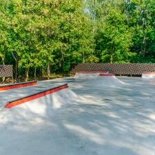 Фото: скейт парк в Ивантеевке - FK-ramps
