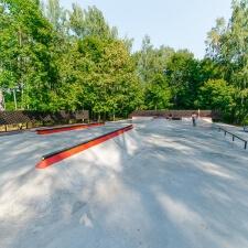 Бетонный скейт парк в Ивантеевке - FK-ramps