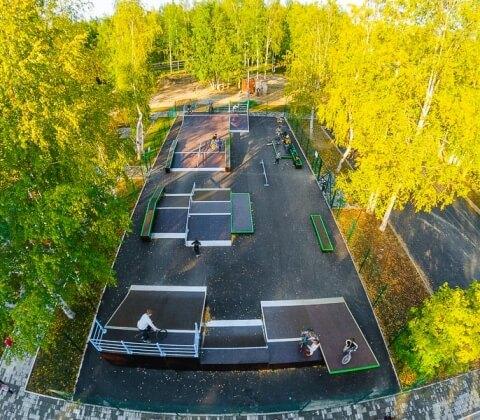Проект: скейт парк в Стрежевом, Томская область - FK-ramps
