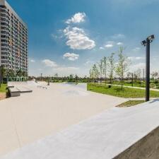 Проект: скейт парк в ЖК Бунинские Луга, Москва - FK-ramps