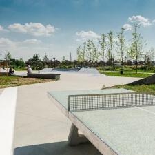Скейт парк в ЖК Бунинские Луга в Москве - FK-ramps