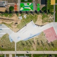 Бетонный скейт парк в ЖК Бунинские Луга в Москве - FK-ramps