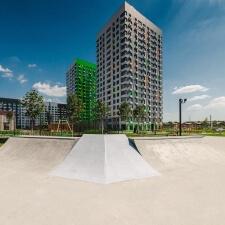 Фото: скейт парк в ЖК Бунинские Луга, Москва - FK-ramps
