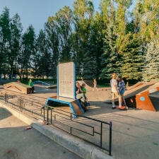 Фото: скейт парк в Дедовске - FK-ramps