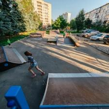 Проект: скейт парк в Дедовске - FK-ramps